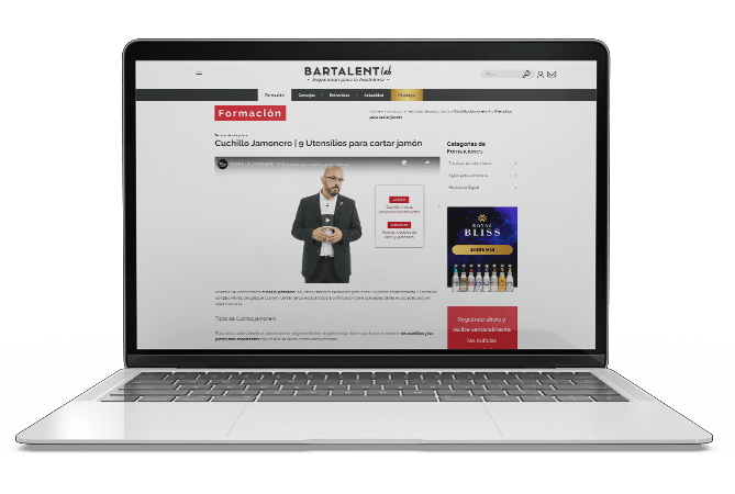 bartalent lab proyecto web desktop