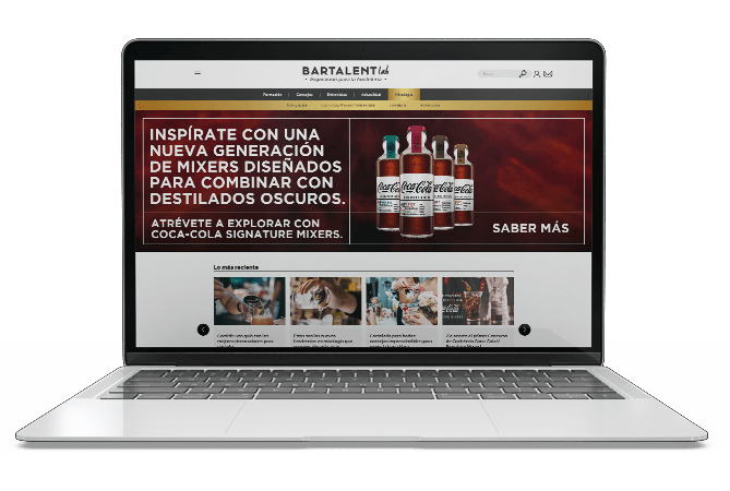 desktop proyecto web bartalent lab