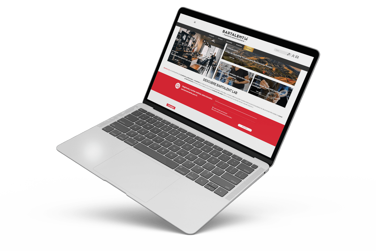 proyecto web bartalent lab